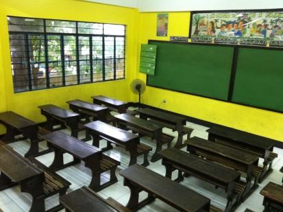 Teacher Ja and Teacher Carlo's classroom is ready for school year 2013-14.