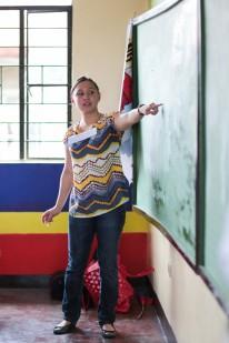 Teacher Steffi of Pasong Tamo Elementary School