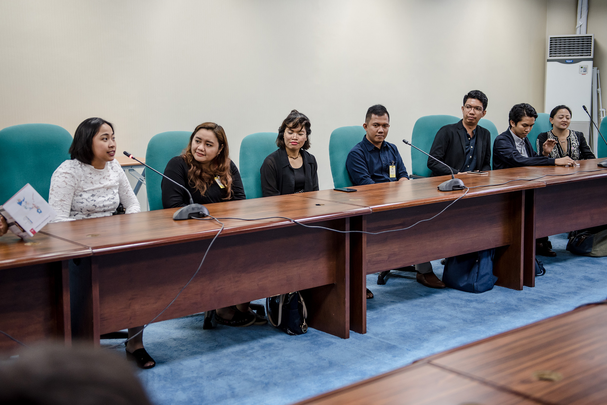 Teach for the Philippines Alumni working in education reform, specifically in program and policymaking in the Department of Education, the Commission on Higher Education, and the Senate Offices